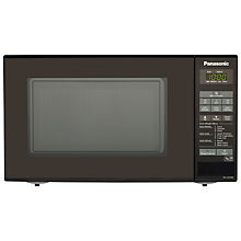 Buy Panasonic NN-E281B Microwave Oven, Black Online at johnlewis.com