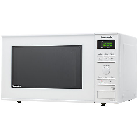 Buy Panasonic NN-SD251W Microwave Oven, White Online at johnlewis.com