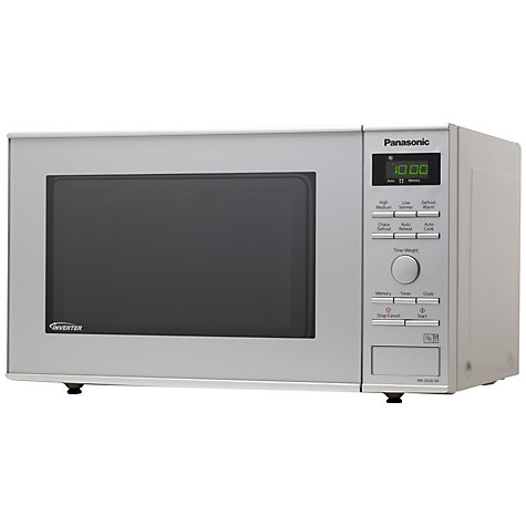 Buy Panasonic NN-SD261M Microwave Oven, Silver Online at johnlewis.com