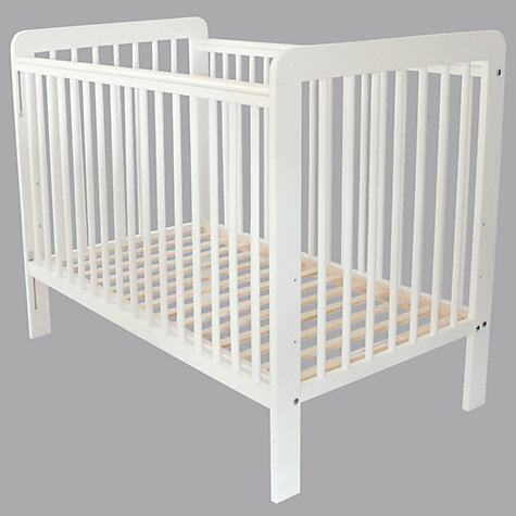 Buy John Lewis Eric Cot, White Online at johnlewis.com