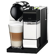 Buy Nespresso EN520 Lattissima Coffee Machine by De'Longhi, White Online at johnlewis.com