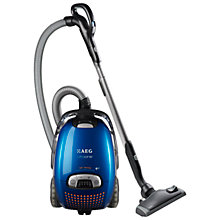 Buy AEG AUO8820 UltraOne Cylinder Vacuum Cleaner, Clear Blue Online at johnlewis.com