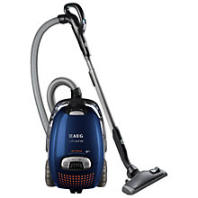 Buy AEG AUO8840 UltraOne Cylinder Vacuum Cleaner, Royal Blue Online at johnlewis.com