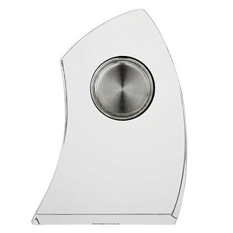 Buy Dartington Crystal Crescent Clocks Online at johnlewis.com