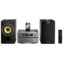 Buy Philips DCB8000/10 DAB Micro System/iPod Dock Online at johnlewis.com