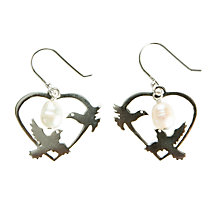 Buy Martick Dove and Freshwater Pearl Earrings Online at johnlewis.com