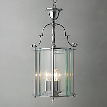 Buy Bloomsbury Lantern, Chrome, 9'' Online at johnlewis.com