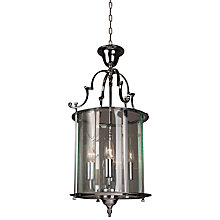 Buy Bloomsbury Lantern, Chrome, 11'' Online at johnlewis.com