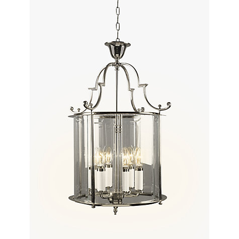 Buy Bloomsbury Ceiling Light, Chrome, 15'' Online at johnlewis.com
