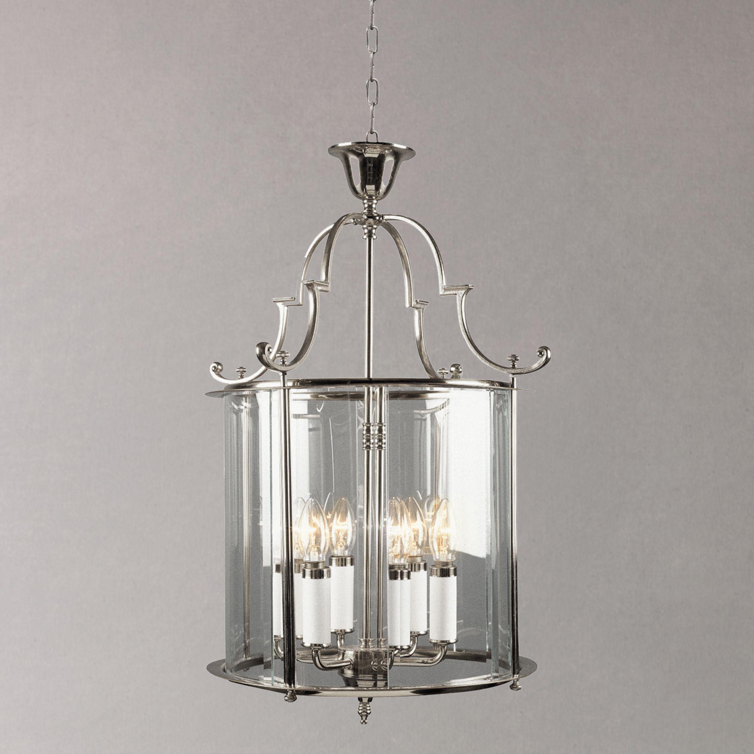 Impex Bloomsbury Ceiling Light, Chrome, 15''