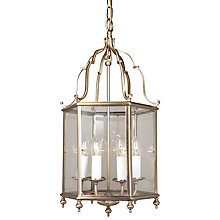 Buy Belgravia Ceiling Light, Antique Brass, 5 Light Online at johnlewis.com