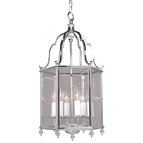 Buy Belgravia Ceiling Light, Chrome, 5 Light Online at johnlewis.com