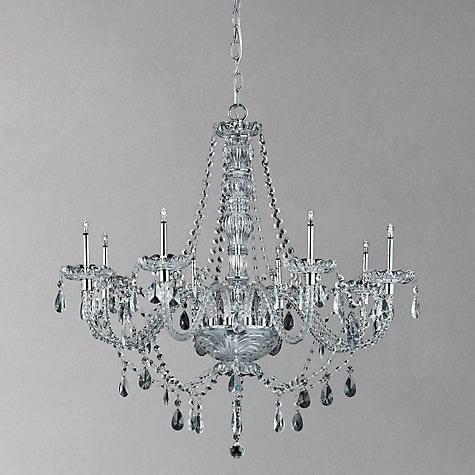 Buy Impex Zara Chandelier, 8 Light Online at johnlewis.com