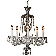 Buy Impex Valentina Chandelier, 5 Light Online at johnlewis.com