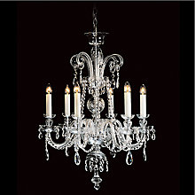 Buy Impex Valentina Chandelier, 6 Light Online at johnlewis.com