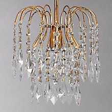 Buy Impex Anastasia Chandelier, Gold Online at johnlewis.com