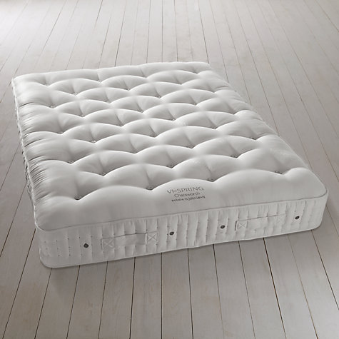 Buy Vi-Spring Chatsworth Mattress and Prestige Divan Set, Kingsize Online at johnlewis.com