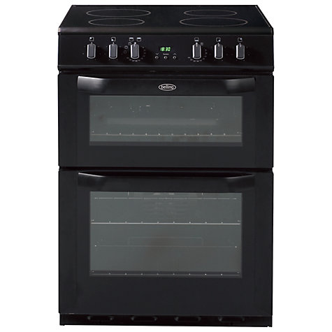 Buy Belling FSE60DOP Electric Cooker, Black Online at johnlewis.com