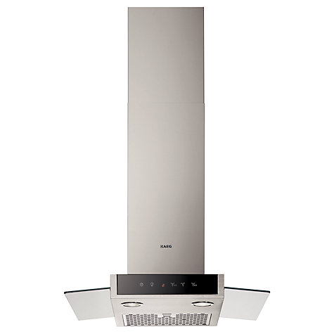 Buy AEG DD9864-M Chimney Cooker Hood, Stainless Steel Online at johnlewis.com