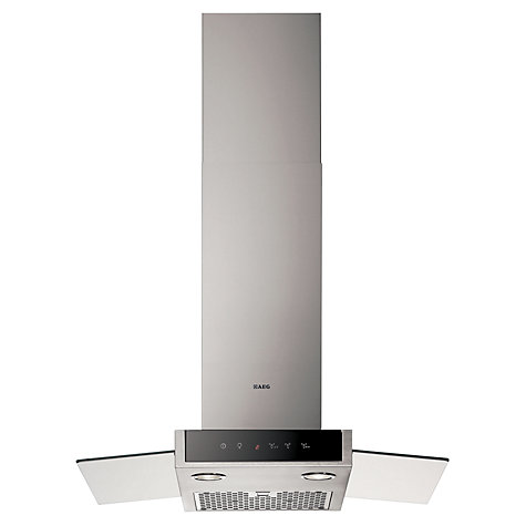 Buy AEG DD9874-M Chimney Cooker Hood, Stainless Steel Online at johnlewis.com