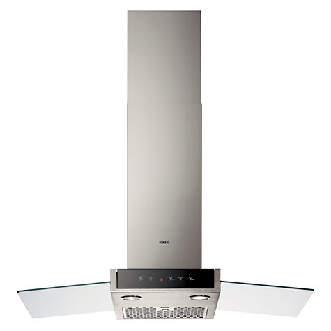 Buy AEG DD9894-M Chimney Cooker Hood, Stainless Steel Online at johnlewis.com
