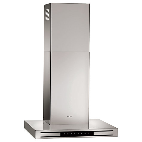 Buy AEG X66453MD0 Chimney Cooker Hood, Stainless Steel Online at johnlewis.com