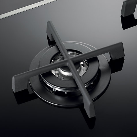 Buy AEG HG795440XB Designer Gas Hob, Black Glass Online at johnlewis.com