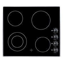 Buy AEG HK614010MB Ceramic Hob, Black Online at johnlewis.com