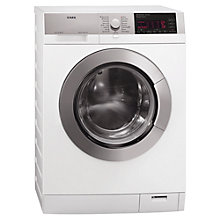 Buy AEG L98699FL Freestanding Washing Machine, 9kg Load, A+++ Energy Rating, 1600rpm Spin, White Online at johnlewis.com
