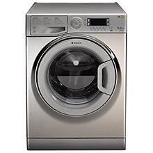 Buy Hotpoint WMUD942X Ultima Washing Machine, 9kg Load, A++ Energy Rating, 1400rpm Spin, Stainless Steel Online at johnlewis.com