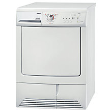 Buy Zanussi ZDC67560W Tumble Dryer, 7kg Load, B Energy Rating, White Online at johnlewis.com