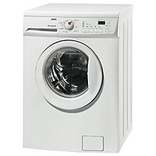 Buy Zanussi ZKN7147J Washer Dryer, 8kg Wash/6kg Dry Load, A Energy Rating, 1400rpm Spin, White Online at johnlewis.com