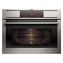 Buy AEG MCC3881E-M Built-in Combination Microwave, Stainless Steel Online at johnlewis.com