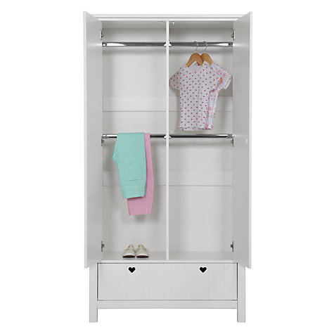 Buy little home at John Lewis Amelia 2-door Children's Wardrobe Online at johnlewis.com