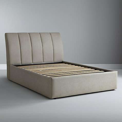 Buy Tempur Bayonne Divan Storage Bed, Driftwood, King Size Online at johnlewis.com