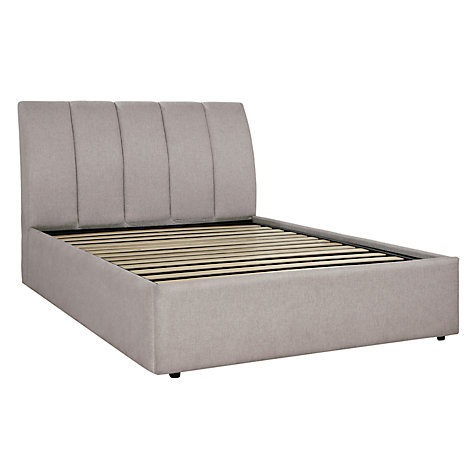 Buy Tempur Bayonne Divan Storage Bed, Driftwood, Double Online at johnlewis.com