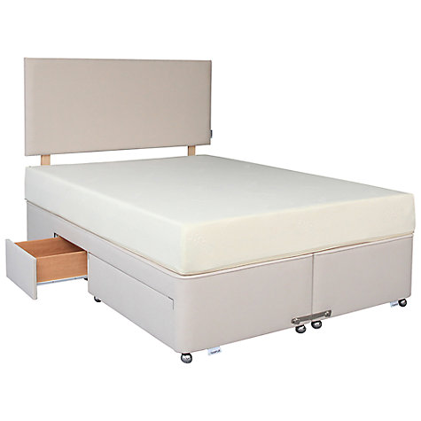 Buy Tempur Corsica Divan Base, Cosmos, Double Online at johnlewis.com