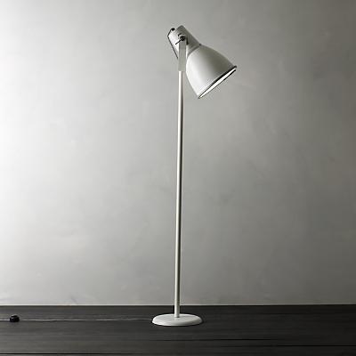 Original BTC Stirrup Floor Lamp, White