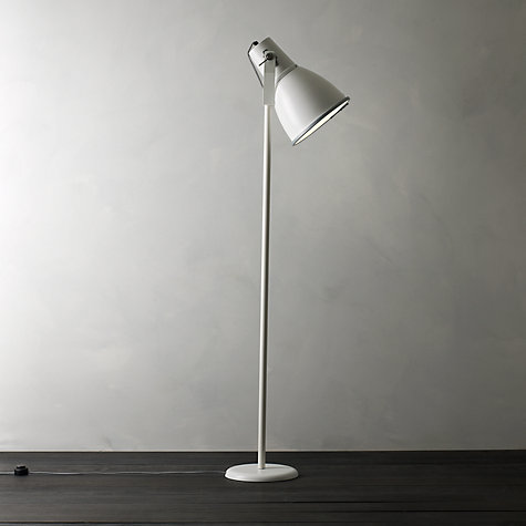 Buy Original BTC Stirrup Floor Lamp, White Online at johnlewis.com