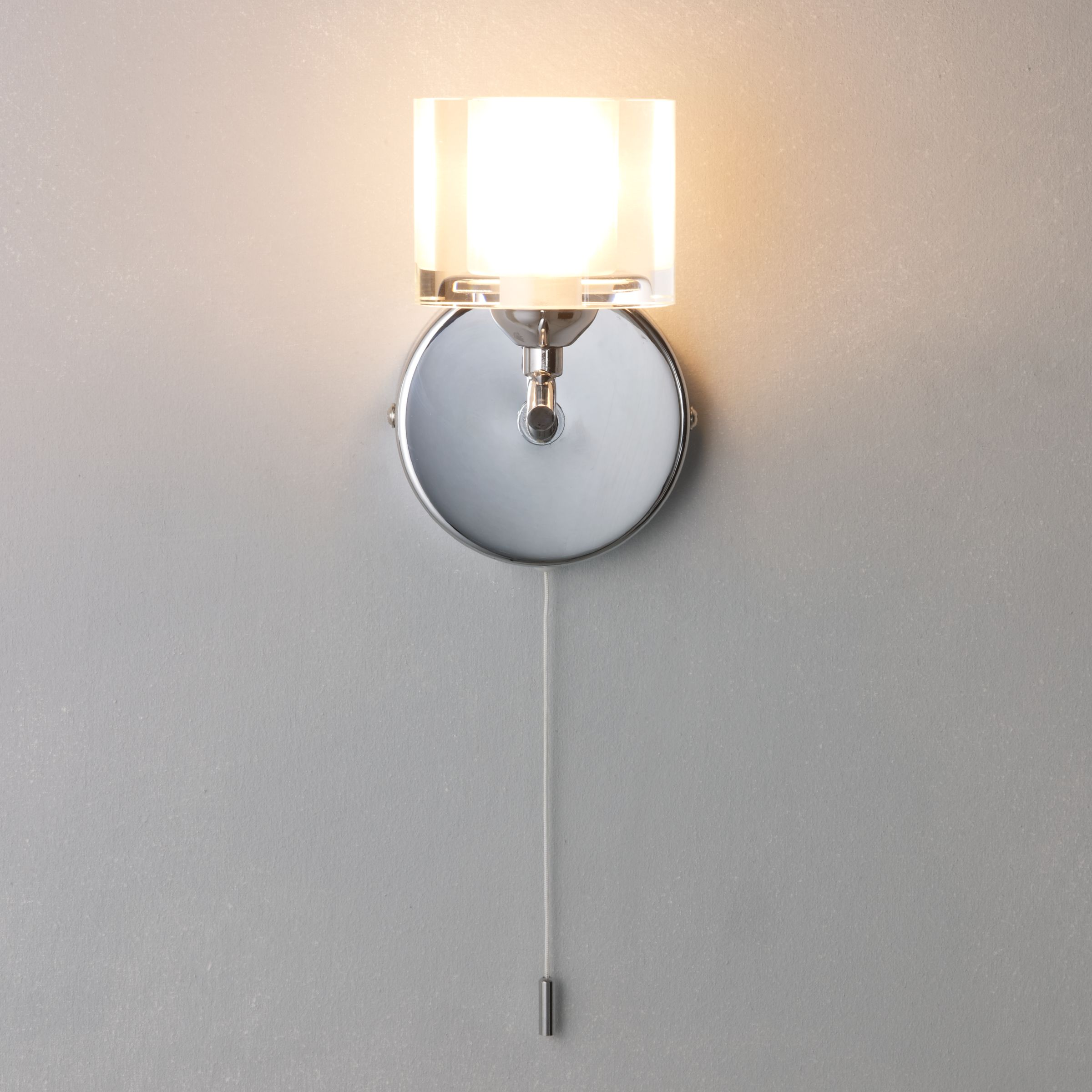 John Lewis Wall Lights Glass : Buy John Lewis Zola Single Wall Light John Lewis