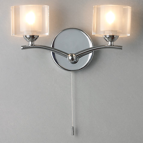 Buy John Lewis Zola Wall Light, 2 Lights Online at johnlewis.com