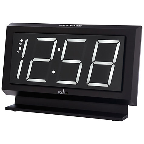 Buy Acctim Labatt Alarm Clock Online at johnlewis.com
