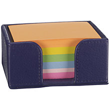 Buy Campo Marzio Memo Card Holder, Purple Online at johnlewis.com