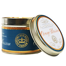 Buy Kew Gardens Scented Candle In a Tin, Orange Online at johnlewis.com
