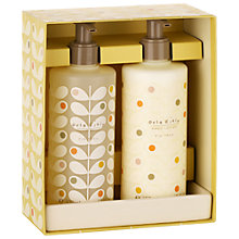 Buy Orla Kiely Fig Tree Handwash & Lotion Gift Set Online at johnlewis.com