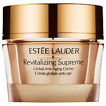 Buy Estée Lauder Revitalizing Supreme Global Anti-Aging Creme, 30ml Online at johnlewis.com
