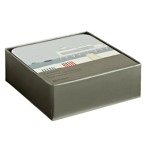 Buy John Lewis Coastal Coasters, Set of 6 Online at johnlewis.com