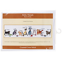 Buy Anchor Margaret Sherry Nine Cats Cross Stitch Kit Online at johnlewis.com