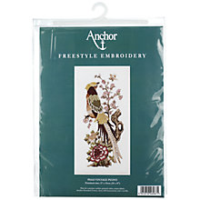 Buy Anchor Vintage Peony Cross Stitch Kit Online at johnlewis.com
