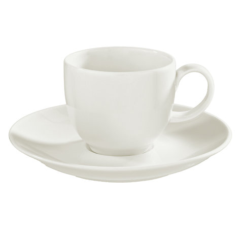Buy House by John Lewis Espresso Saucer Online at johnlewis.com
